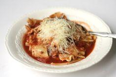 Sweet and Savory By Sarah: Lasagna Soup