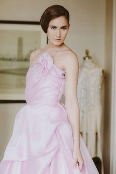 Dreamy Wedding Dresses That Aren't White | Sareh Nouri's Pretty Perfection