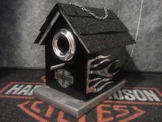 Custom Harley Birdhouse | I Love Harley Bikes