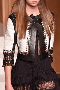 Details from Givenchy Spring/Summer 2015.