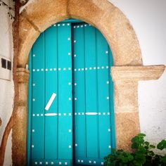 A Door in Cáceres by Spain Unspoilt