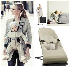 Great products from Baby Bjorn for traveling with your baby.