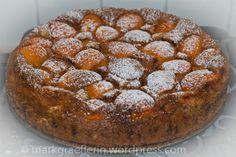 Aprikosen-Schokogrießkuchen