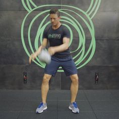 Your Essential Kettlebell Workout in Ten Mesmerizing GIFs - Racked NYclockmenumore-arrownoyes : Welcome to Workout Wednesday: every hump-day, we'll be rounding up some of the city's hottest fitness trends and studios