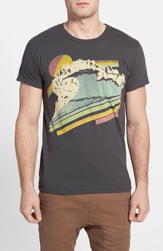 Sol Angeles 'Cloud Break' Graphic Pocket T-Shirt available at #Nordstrom