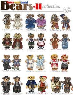 International Bears II Collection-XXX