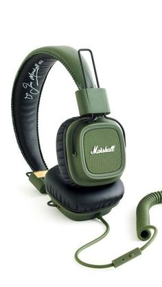 A Marshall stack for your ears #productdesign