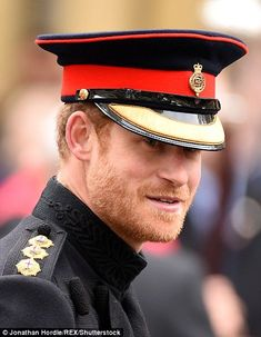 The royal, 32, who confirmed on Tuesday that he's dating the US actress, joined his grandfather, The Duke of Edinburgh, on a visit to the Field of Remembrance at Westminster Abbey.                                                                                                                                                                                 More