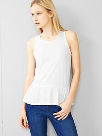 Peplum tank Make sure to use Gap Discount and Voucher Codes to get significant discounts on your purchase.