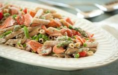 Penne Primavera with Salmon | Whole Foods Market