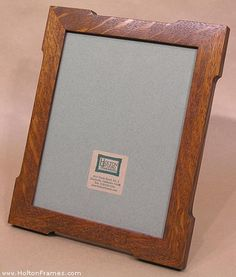 Mitered photo frame
