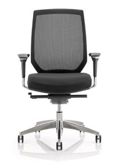 office chair designer. Mesh Backed Designer Office Chair. Ergonomic Seat Slide And Fully  Adjustable. Cold Cured Foam For Added Comfort Available In Large Range Of Fabrics Chair