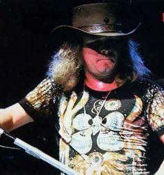 RVZ —Lynyrd Skynyrd New Bands, Great Bands, Cool Bands, Rock And Roll Bands, Rock N Roll, Lynard Skynard, Allen Collins, Ronnie Van Zant, Hippie Style