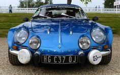 1962 Alpine Renault. A car that had style and guts