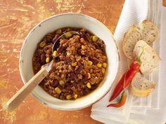 Chili con Carne aus der Mikrowelle