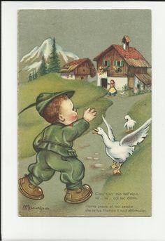 cartolina illustrata da mariapia maria pia alpino 1942 alpini . | eBay