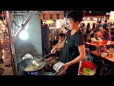 Best Street Food Night Market in Taiwan: 大東夜市 - YouTube