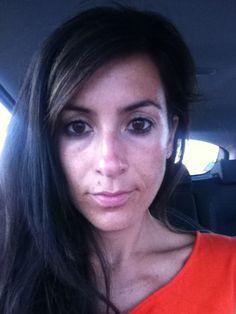 Orange dress..