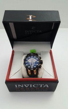 Invicta Reserve Men's 0975 Venom Viper Swiss Made Quartz Chronograph  #Invicta #LuxuryDressStylesSportdiver