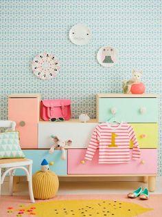 30 Ideen für Kinderzimmergestaltung - Ideen für Kinderzimmergestaltung ideen deko bunt fröhlich möbel
