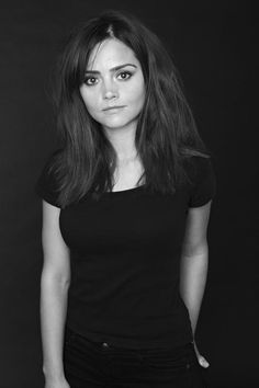 Jenna Louise-Coleman: That Doctor's a lucky b'td!! The most beautiful girl in the Universe (or any other Universe that the tardis may take her to.)