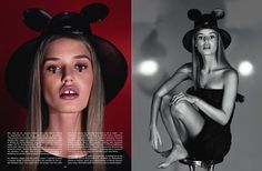 "News - Georgina Graham does make up for ""Mad about Minnie"" for Dazed & Confused, Spring/Summer 2015 Dazed And Confused, Image Makers, Talent Management, Spring Summer 2015, Magazine Covers, Graham, Mad, Stylists, Editorial"