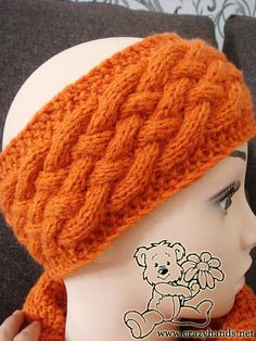 Duo of free knitting patterns - cowl scarf and knitted headband with simple to observe knitting directions, images and detailed rationalization.Test the way to knit Knitted Headband Free Pattern, Beanie Knitting Patterns Free, Knitting Kits, Beanie Pattern, Loom Knitting, Free Knitting, Hat Patterns, Knitting Projects, Knitted Hats