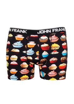 John Frank Digital Printed Ultra Premium Cotton Men s Boxer Cup Cakes   JohnFrank  Boxer Ultra 235a384136c