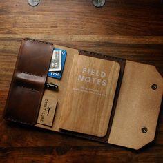 Northwestward field notes. #fieldnotesbrand #fieldnotes #handmade #leather #accessories
