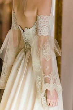Claire Pettibone Marie strapless wedding dress with lace embroidered bodice, sil. , Claire Pettibone Marie strapless wedding dress with lace embroidered bodice, sil. Wedding Dress Trends, Dream Wedding Dresses, Boho Wedding, Wedding Gowns, Mermaid Wedding, Rustic Wedding, French Wedding Dress, Lace Weddings, Trendy Wedding