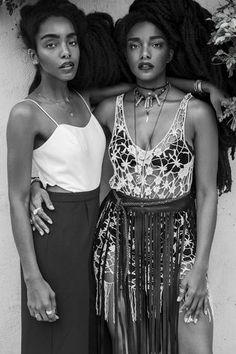 Quann Sisters Make Vogue, Elle, Harper's Bazzar, Marie Claire, WWD, DVF, MSN's Best Dressed & Hair Plus More | UrbanBushBabes | Bloglovin