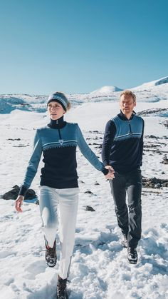 Stay stylish on and off the slopes with Dale of Norway. ⛷ Shop Lahti sweater in new colorway now at daleofnorway.com