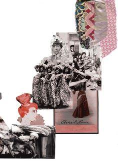 45 Trendy fashion design collage sketchbook pages Mode Portfolio Layout, Fashion Portfolio Layout, Fashion Design Sketchbook, Portfolio Covers, Portfolio Design, Portfolio Ideas, Textiles Sketchbook, Sketchbook Layout, Sketchbook Pages