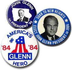 John Glenn for President, 1984