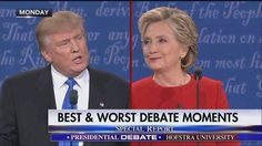 """""""You've been doing this for 30 years. Why are you just thinking about these solutions right now?""""  Charles Krauthammer said this line by Donald J. Trump was his best moment from the first presidential debate. Do you agree?"""