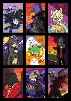 Fox Pictures, Kid Icarus, Star Fox, Super Star, Super Smash Bros, Furry Art, Video Games, Wolf, Nintendo