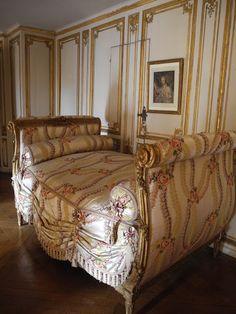 Dans l'appartement de Madame du Barry, Château de Versailles