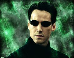 Matrix (Keanu Reeves - Neo / Thomas A. Keanu Reeves John Wick, Keanu Charles Reeves, Four Movie, Movie Tv, Scarface Poster, The Matrix Movie, White Umbrella, Blue Pill, Sci Fi Films
