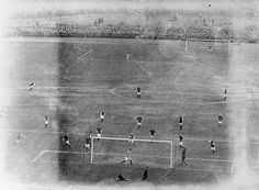 The 1914 FA Cup final between Liverpool and Burnley, held at Crystal Palace