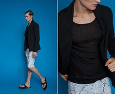 #lookbook #marcstone #SS2014 Summer Collection, Spring Summer, Blouse, Long Sleeve, Sleeves, Tops, Women, Fashion, Moda