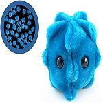 Absolutely Prehistoric Science: Giant Microbes Common Cold Plush Doll