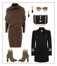 """Untitled #268"" by joanna-tabakou on Polyvore featuring Kate Spade, Lanvin, Gianvito Rossi, Chloé, Pierre Balmain and Valentino"