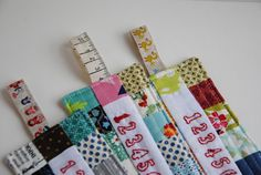 awesome quilted bookmarks