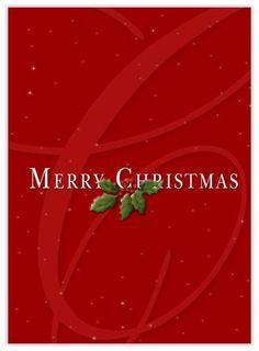 MERRY CHRISTMAS •