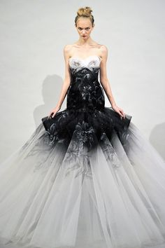 Ugly model, Beautiful Dress  