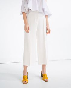 Image 2 of FLOWING CULOTTES from Zara