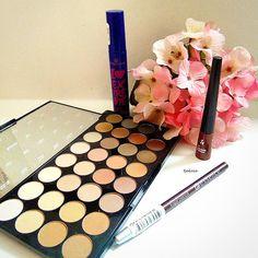 #makeuphaul #makeuprevolution #lidschattenpalette #lidschatten #manhattancosmetics #essence #motd #drogerie #shopping #beautyhaul #k4lfeature #mua #todayslook #eyeshadow #beautyjunkie #germanblogger #kosmetik4less #beautyblogger #beautyblogger_de #flawlessmatte #schminke #mädchenkram #makeuphoarder #girlystuff #dmhaul #mascara #augenmakeup #amu