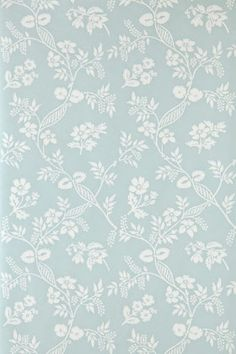 Farrow & Ball Melrose wallpaper from Wimborne Papers collection