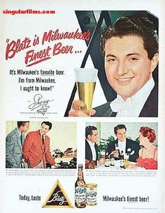 Liberace beer ad