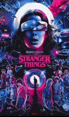 Stranger Things Netflix, Stranger Things Funny, Stranger Danger, Fun Fair, Alternative Movie Posters, Tumblr Wallpaper, Best Shows Ever, Fan Art, Strangers Things